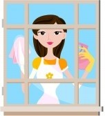 5168795-girl-cleaning-window-with-clipping-path