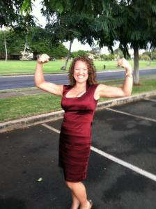 Lori Dec 2011 After working out for 6 months at DBF